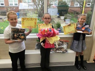 Y3 Easter Egg Competition Winners